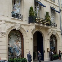 Ralph Lauren's Restaurant in Paris