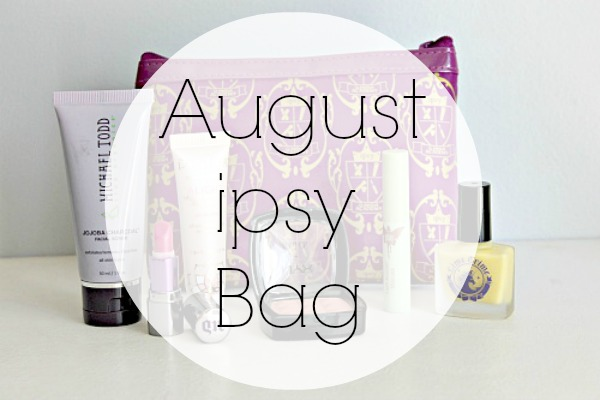 August ipsy Bag 2013