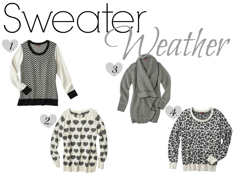 Friday Fashion: Sweater Weather