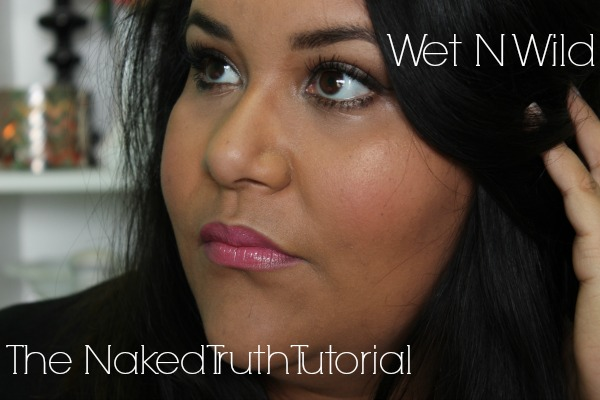 Wet N Wild The Naked Truth Palette Tutorial