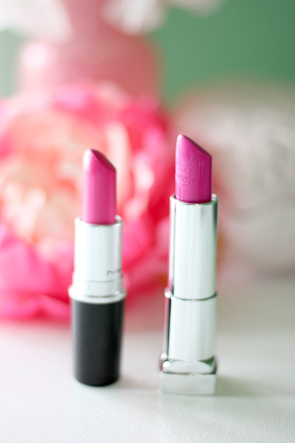 MAC Playland Collection Lipstick Dupes