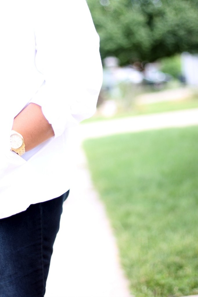 PLus Size white blazer