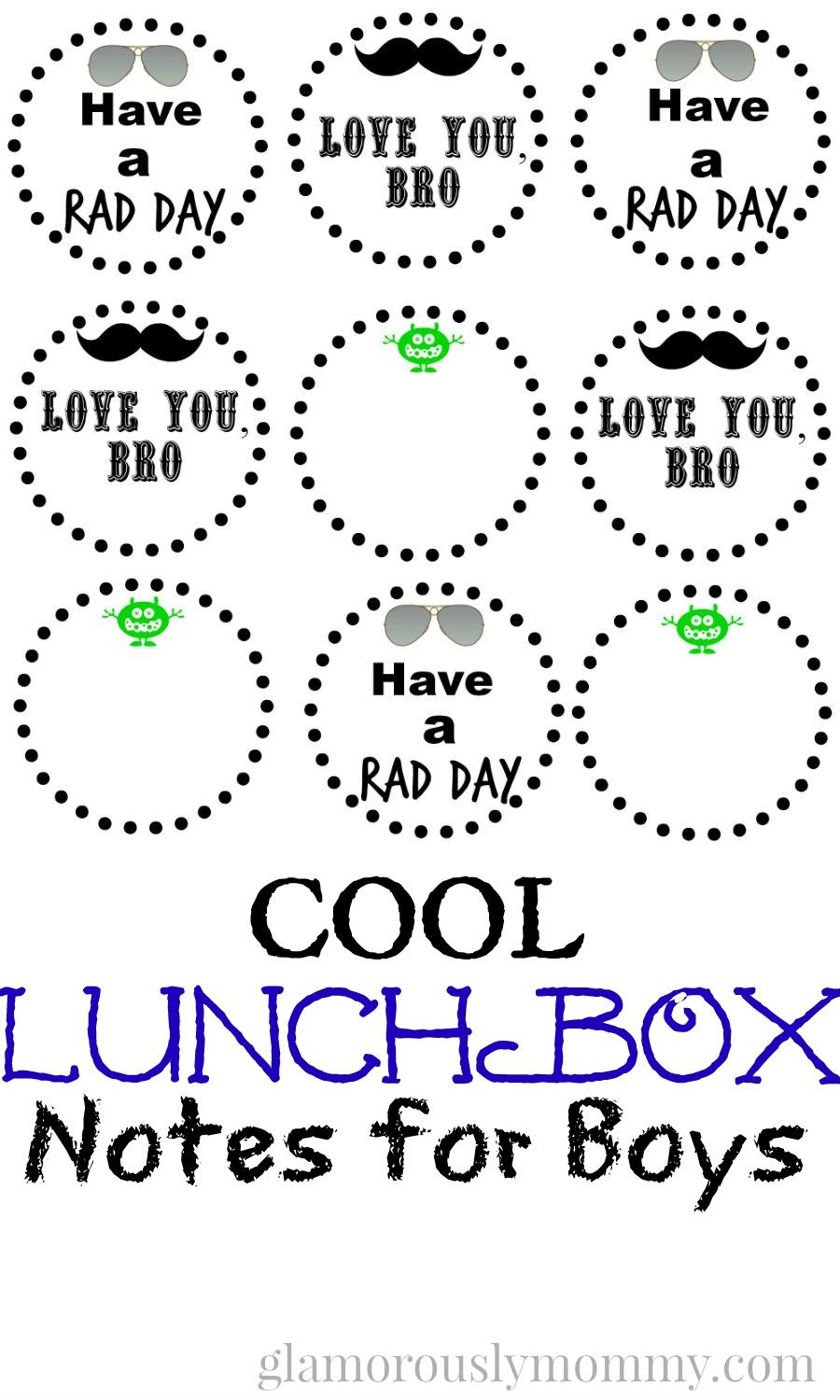 lunchbox notes for boys