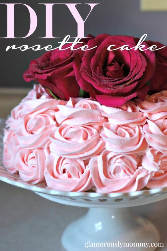 How to make a Rosette Cake  tutorial