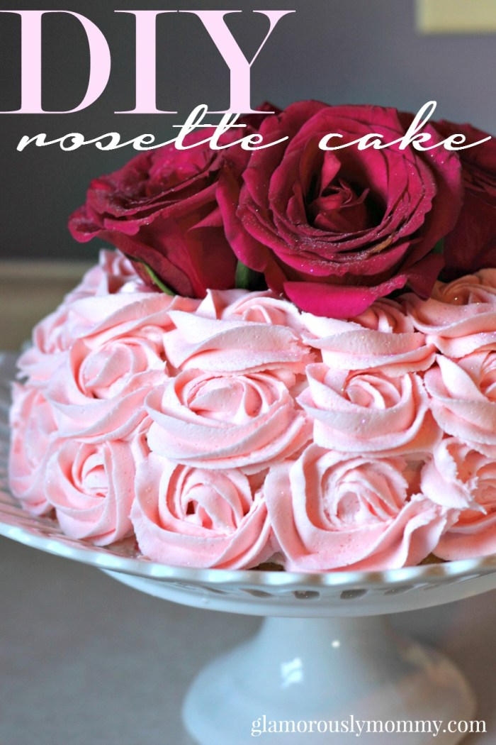 How to make a Rosette Cake  tutorial