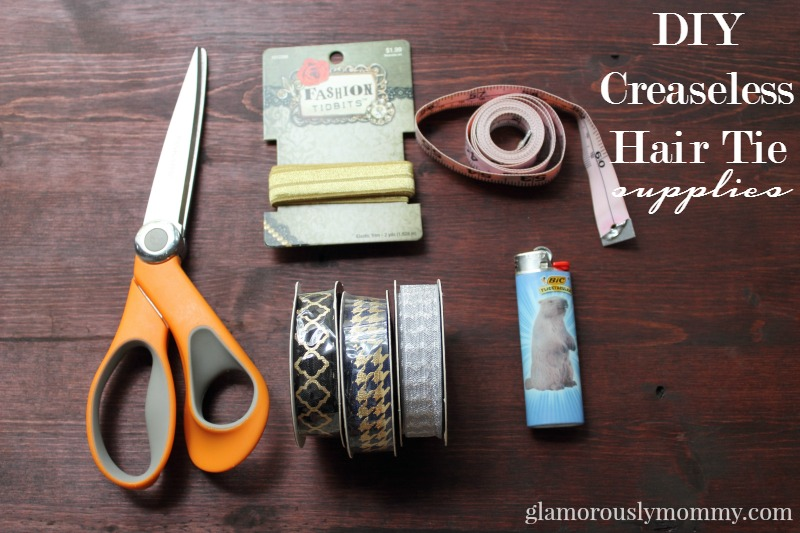 Diy hair ties supplies