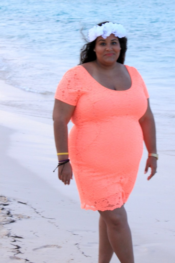 Charlotte Russe Plus: Beach Bodycon