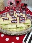 Mad Hatter Tea Sandwiches