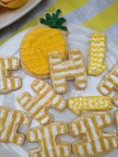 Pineapple Party Cookies