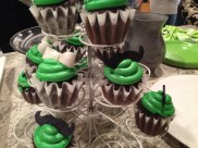 The cupcakes