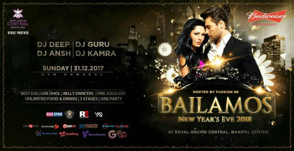 BAILAMOS NEW YEAR EVE 2018