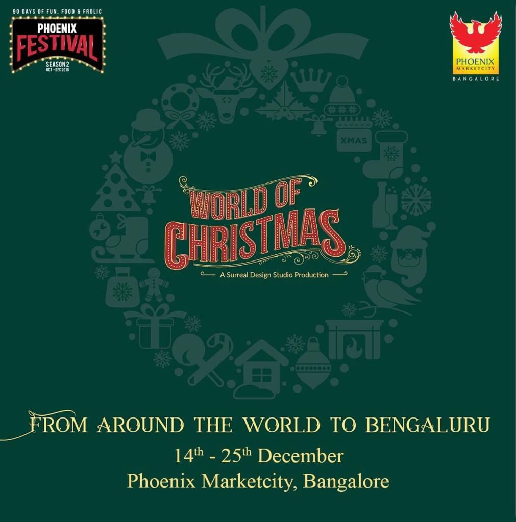 PHOENIX MARKETCITY presents WORLD OF CHRISTMAS 2018