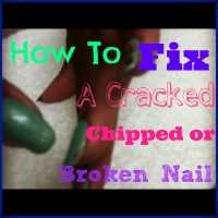 How To Fix A Cracked Chipped or Broken Acrylic or Gel Nail