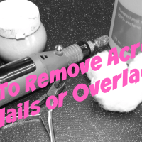 How To Remove Acrylic Nails or Overlay at Home (Video Included)