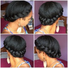 Protective Styles can be quick and easy