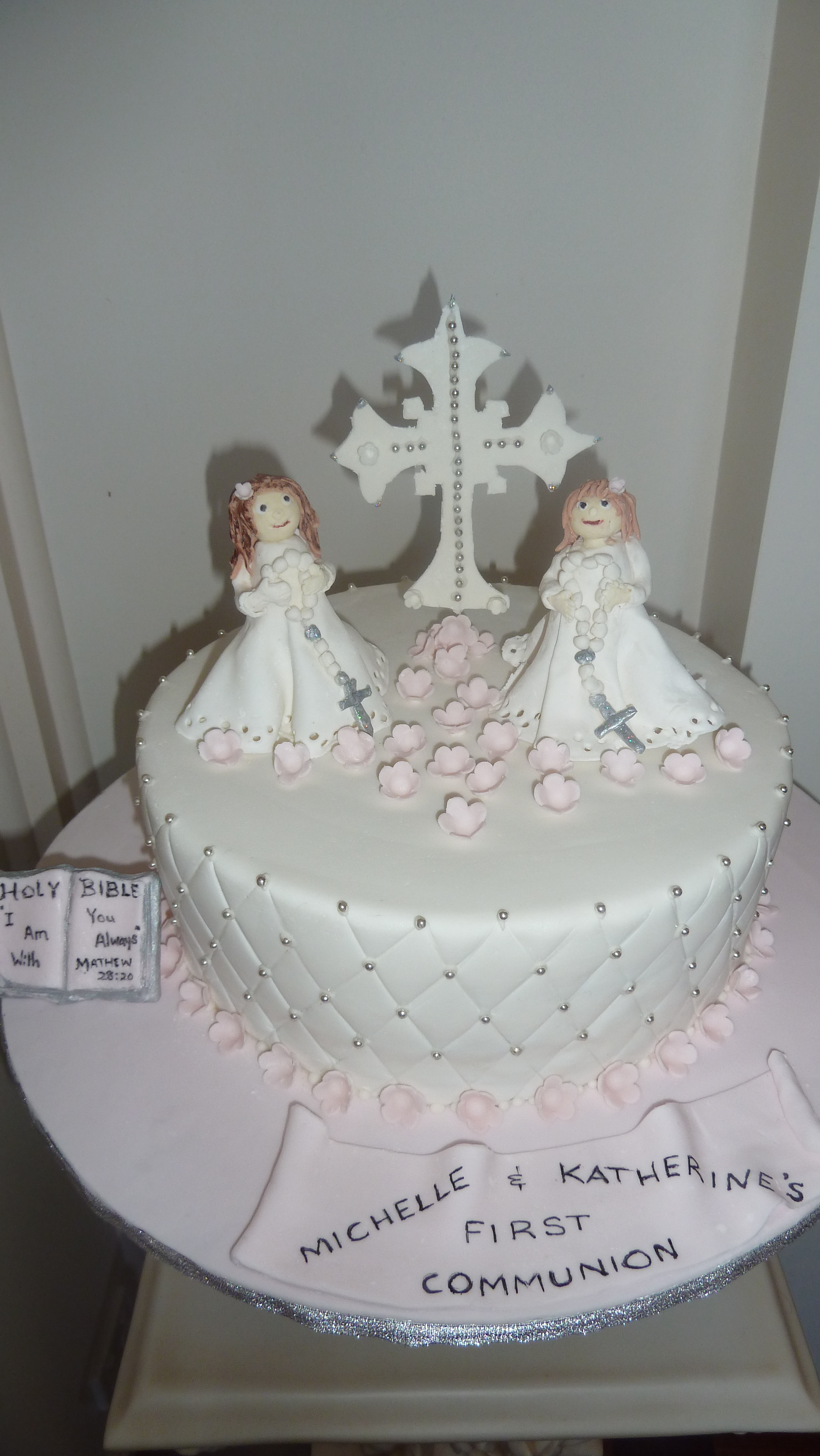 Communion Confirmation Cakes Glamour4ever Cake Designs