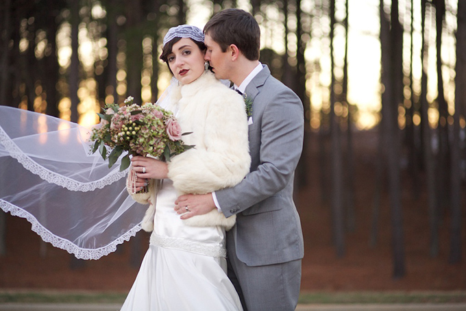 Great Gatsby winter wedding inspiration | Live View Studios