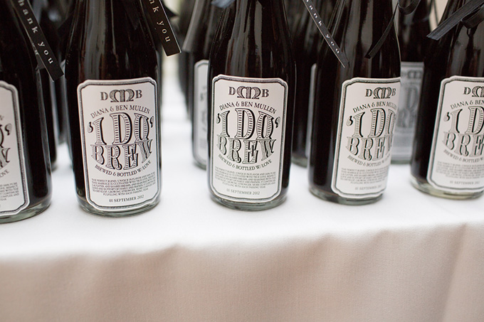 beer favors | Thompson Photography