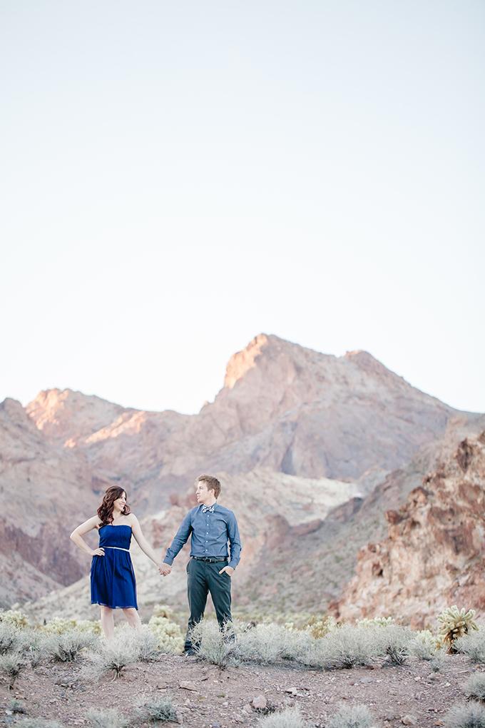 desert engagement session | JoPhoto