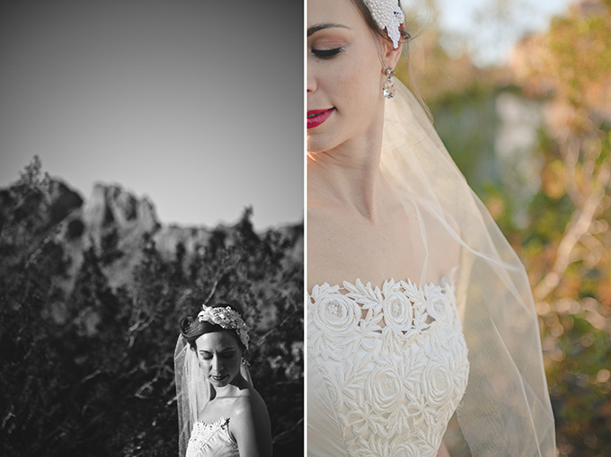 glam desert bridals | Bit of Ivory Photography