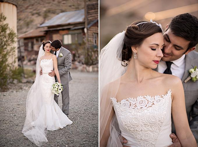 glam desert bridals | Kristen Weaver