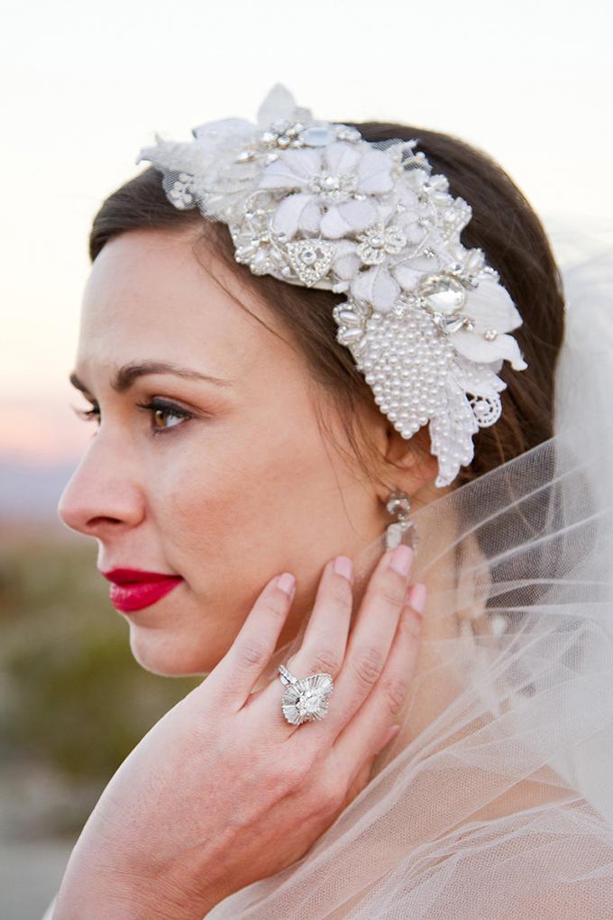 glam desert bridals | Cardin Creative Photography