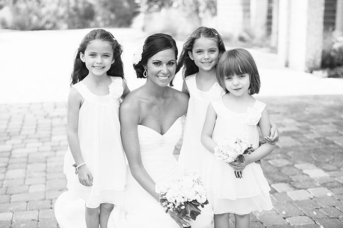 peach Florida wedding   Brooke Images