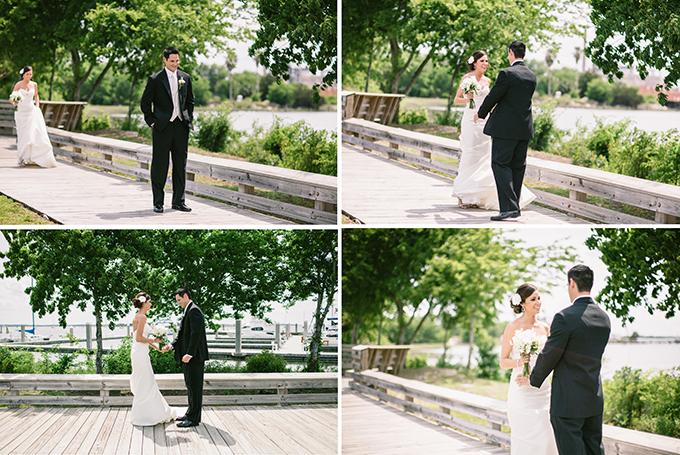 peach Florida wedding | Brooke Images