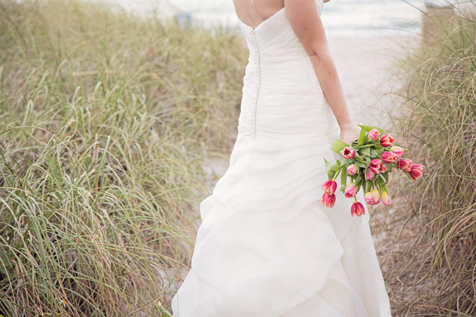spring beach bridals | Traci Burke Photography