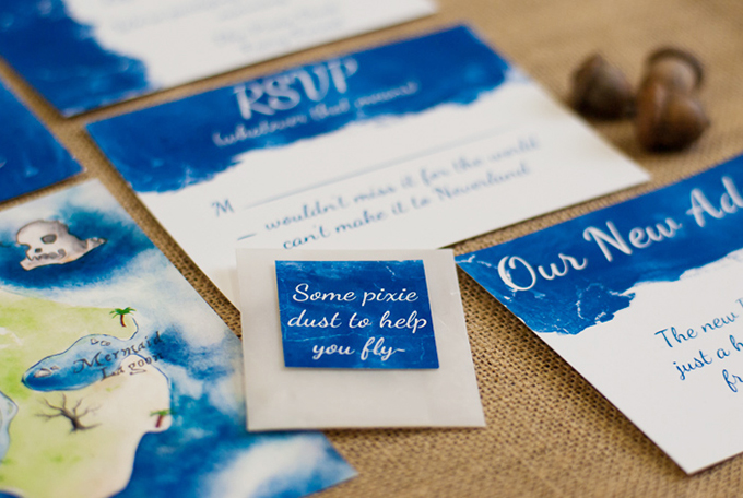 Peter Pan wedding inspiration | Caitlin Gerres