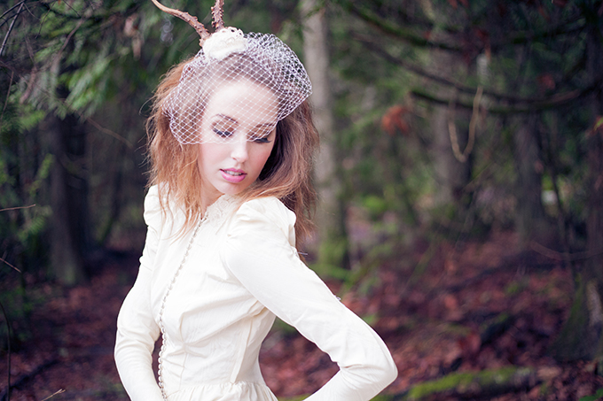 quirky vintage bridal session | Chelsea Dawn Photography