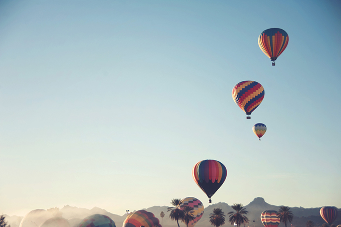 hot air balloon love shoot | Audra Wrisley Photography + Design