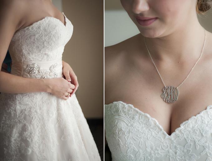 monogram necklace | Aislinn Kate Photography