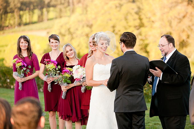 burgundy vineyard wedding | Murray Photography