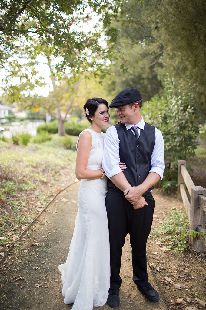 vintage California estate wedding | Driver Photo