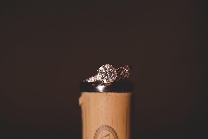 white cork ring shot | Bit of Ivory Photography