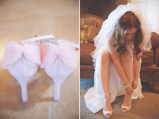 pink bow heels   Emily Heizer Photography