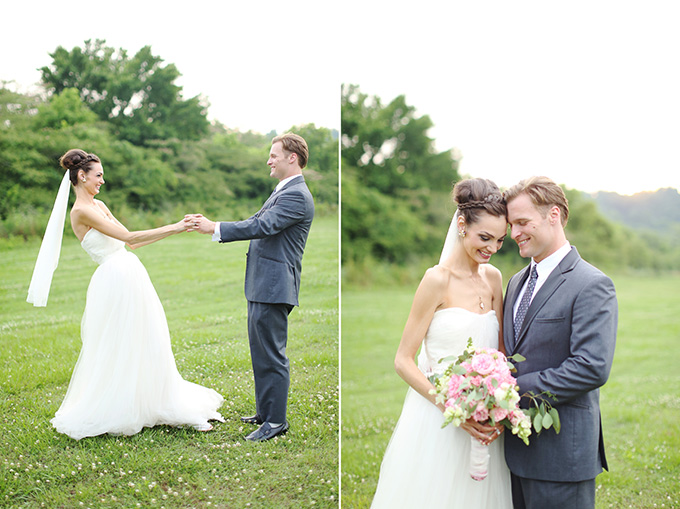 handmade blush Alabama wedding | j.woodbery photography