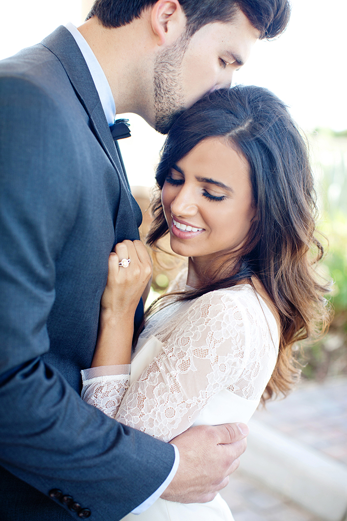 chic engagement session | Maria Glassford Photography