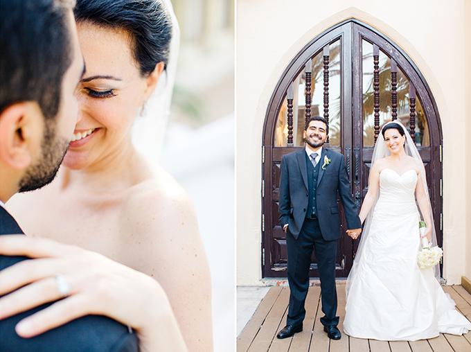 glam blush Miami wedding | Elaine Palladino Photography