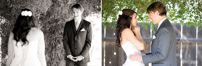 first look | Amy & Jordan Photography