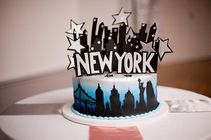 new york cake | Jen & Chris Creed | Glamour & Grace