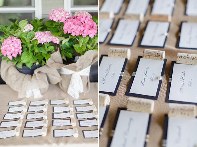 wine escort cards | David Abel Photography | Glamour & Grace