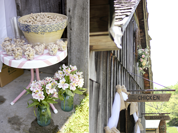 handmade barn wedding | Holly Cromer Photography | Glamour & Grace