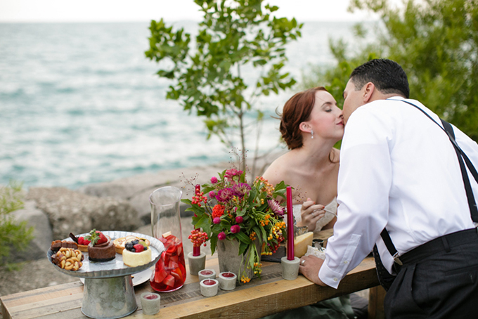 romantic beach post wedding shoot | Shane Welch Photography | Glamour & Grace