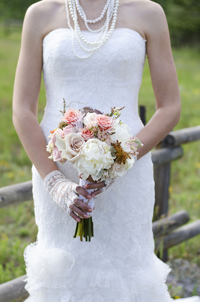 vintage fall bouquet | Green Blossom Photography | Glamour & Grace