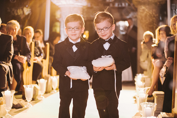 ring bearers | Two Birds Photography | Glamour & Grace
