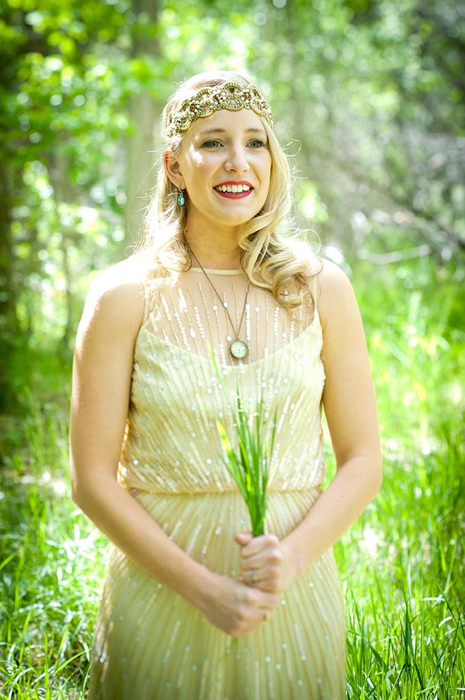 vintage glam bride | Ellen Jaskol | Glamour & Grace