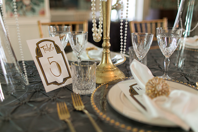 art deco wedding inspiration | Andi & Zoe Photography | Glamour & Grace