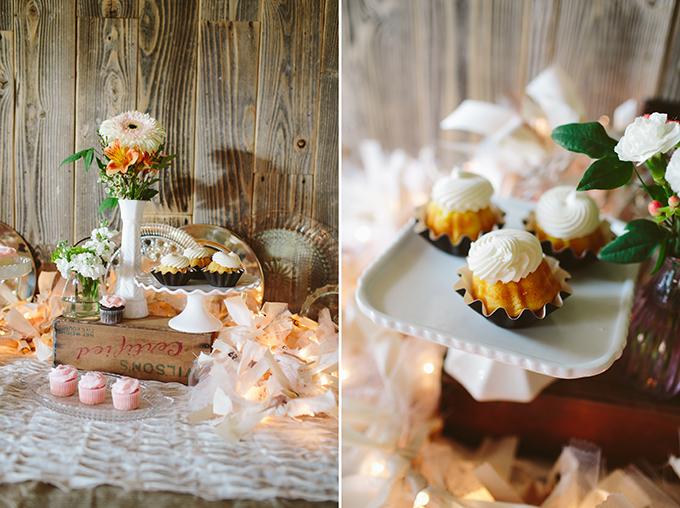 rustic dessert table | Amanda Watson Photography | Glamour & Grace